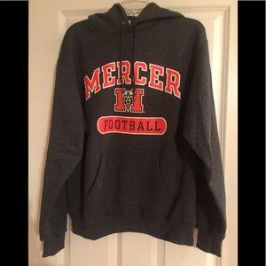 Mercer football sweatshirt hoodie